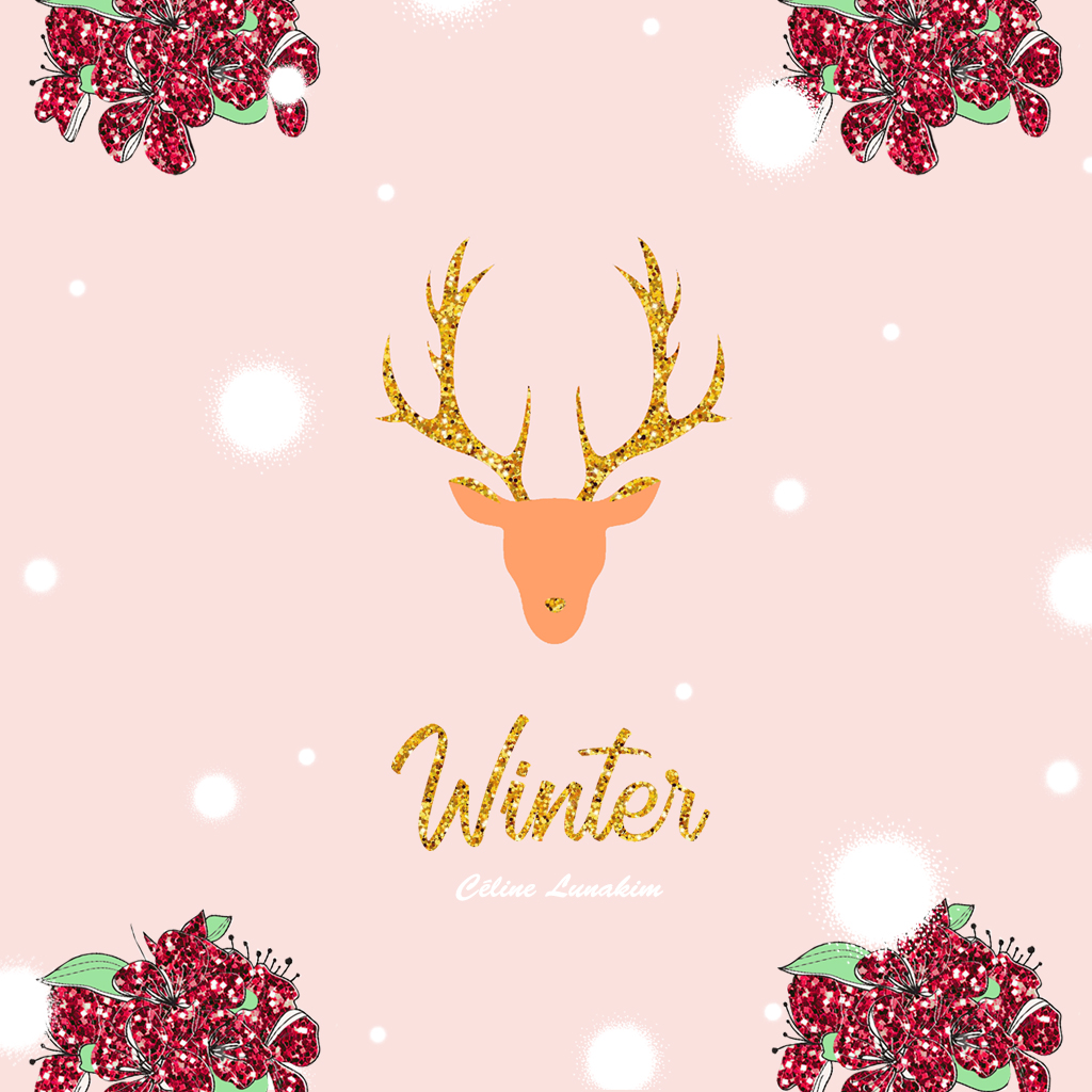 Christmas and Winter wallpapers , Free download , Céline Lunakim