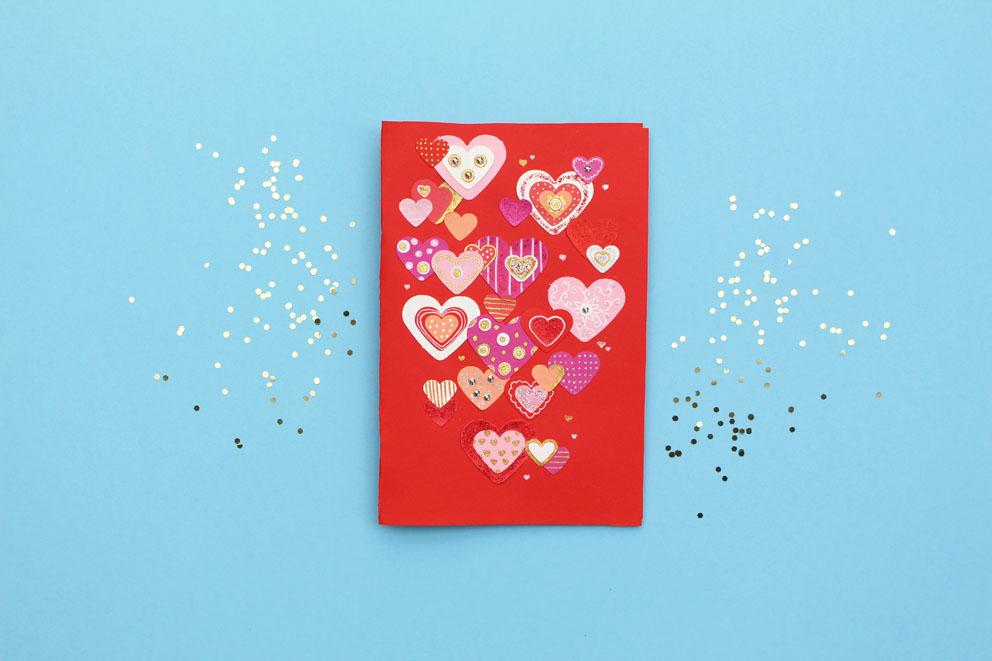 Diy Valentine S Day Card Homemade Valentine S Ideas Celine Lunakim