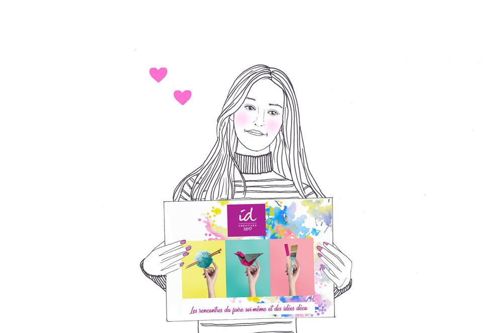 Merci salon id cr atives 2017 clermont ferrand c line - Bricolage clermont ferrand ...