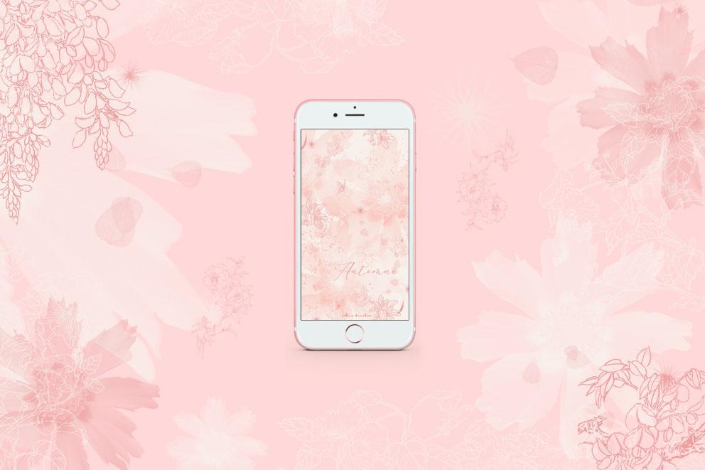 Fond d'écran illustré – Automne